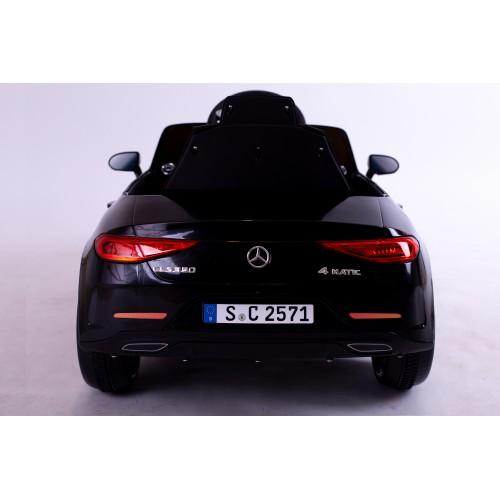 Ηλεκτροκίνητο Παιδικό Αυτοκίνητο Licensed Mercedes Benz CLS350 12v σε Μαύρο χρώμα 5354CLS