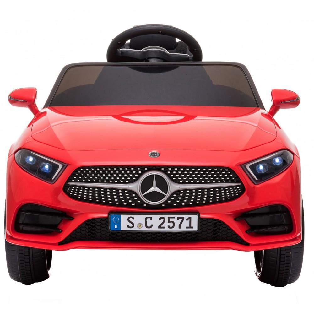 Ηλεκτροκίνητο Παιδικό Αυτοκίνητο Licensed Mercedes Benz CLS350 12v σε Κόκκινο χρώμα 5354CLS