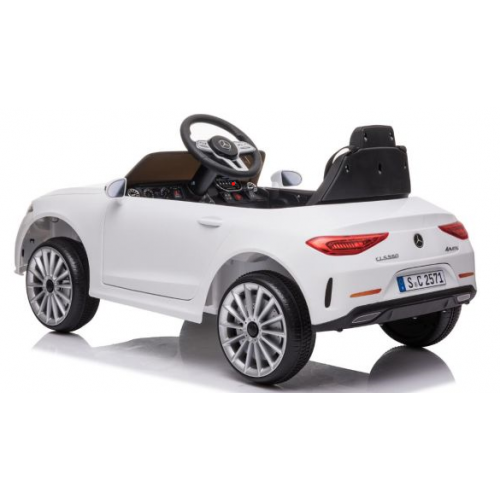Ηλεκτροκίνητο Παιδικό Αυτοκίνητο Licensed Mercedes Benz CLS350 12v σε Λευκό χρώμα 5354CLS