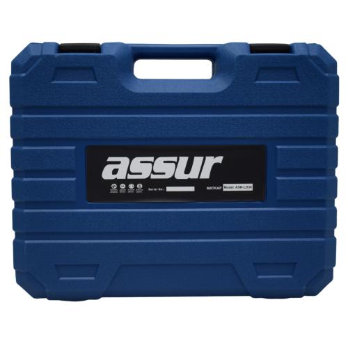 Γωνιακός Τροχός Επαναφορτιζόμενος Με 2 Μπαταρίες 5AH 36V ASSUR ASR-LD36