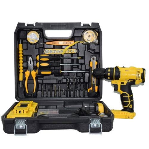 Σετ Κρουστικό Δραπανοκατσάβιδο Επαναφορτιζόμενο Με ( 2 Μπαταρίες , Εργαλεία και Εργαλειοθήκη ) 5AH 24V DWE-CD24