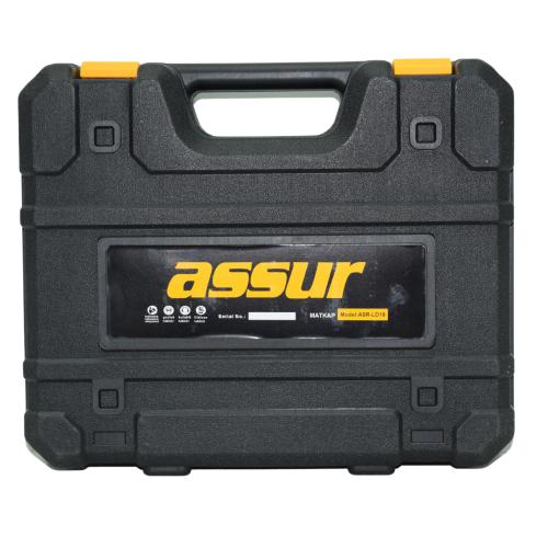 Κρουστικό Δραπανοκατσάβιδο Επαναφορτιζόμενο Με 2 Μπαταρίες 5AH 36V ASSUR ASR-LD18-YS