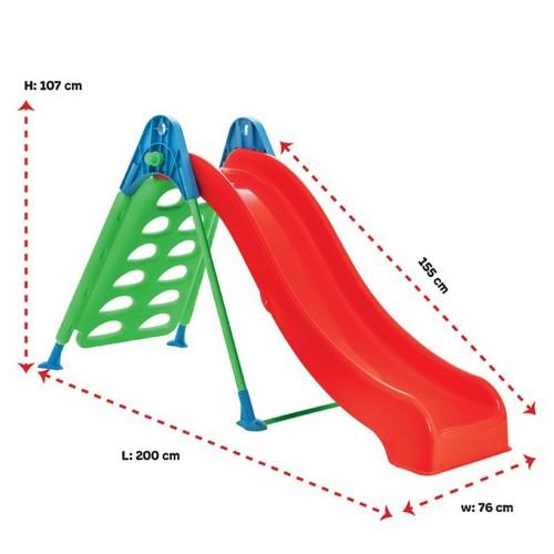 Παιδική Τσουλήθρα Climber Κόκκινο-Πράσινο Pilsan 07-969