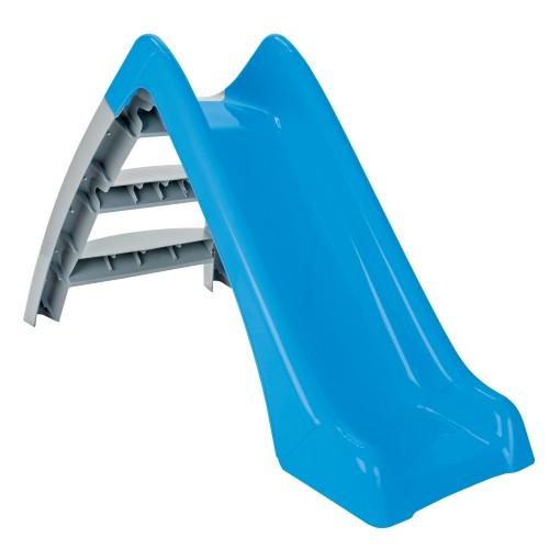 Πλαστική Τσουλήθρα Happy slide Μπλε-Γκρι Pilsan 06-167