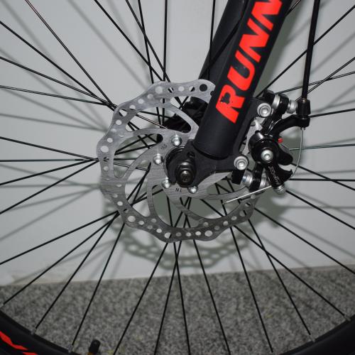 Ποδήλατο Mountain Hardtail 26″ Runner Μαύρο - Κόκκινο RN-805