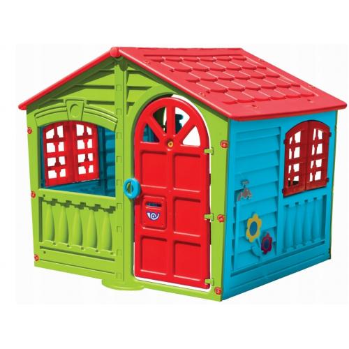 Παιδικό Σπιτάκι MAAYAN House Γαλάζιο-Κόκκινο-Πράσινο PH-890