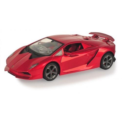 Τηλεκατευθυνόμενο Παιδικό Αυτοκίνητο Licensed Lamborghini Sesto Elemento με διάσταση 1/18 και φώτα σε Κόκκινο SESTO89