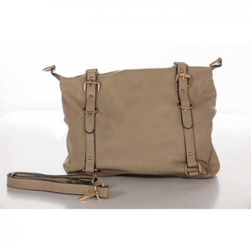 Τσάντα Χειρός Μπέζ NL64-BG