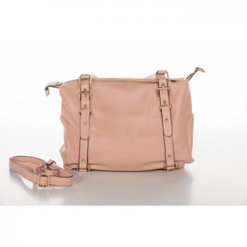 Τσάντα Χειρός Ροζ-Χρυσό NL64-RG