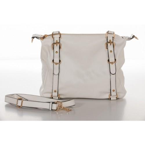 Τσάντα Χειρός Λευκό NL64-WH
