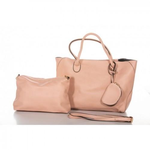 Τσάντα Χειρός Ροζ NL39-RG